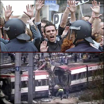 Cordoglio e rabbia per la strage a Madrid