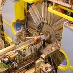 Il detector Belle, un apparecchio di dimensioni contenute che si trova al punto d'incontro tra elettroni e positroni nell'acceleratore di particelle KEKB, in Giappone. Fonte: nobelprize.org