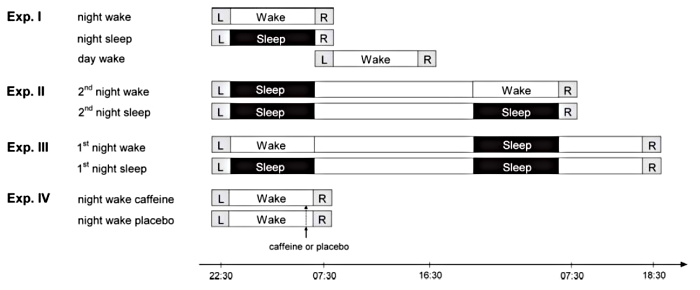 Sleep loss paradigms